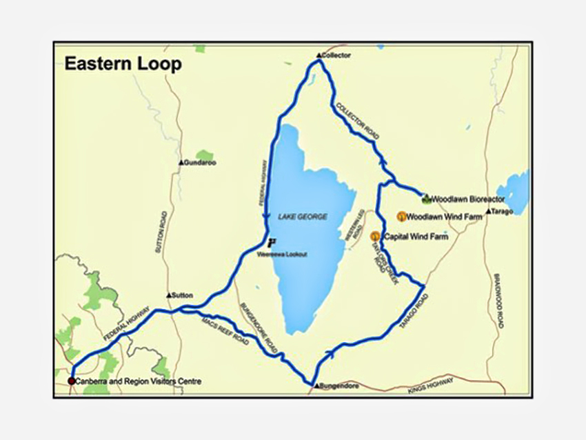 Eastern loop energy trail