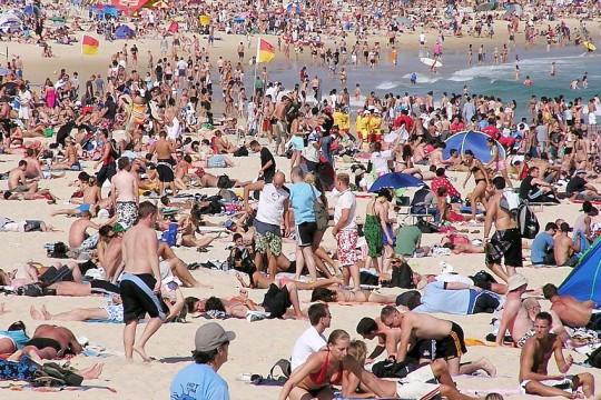 bondi beach 2013