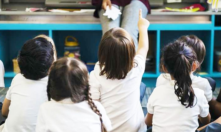 classroom young children