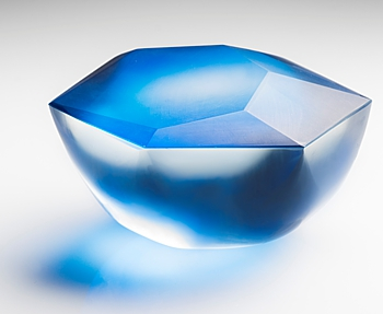 Lucy Palmer constructed glass
