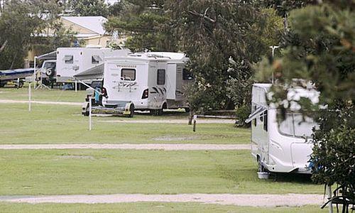 caravan park on Crown Land