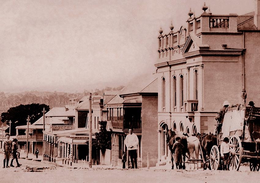 Wallace St Braidwood NSW sorce Braidwood Historical Society