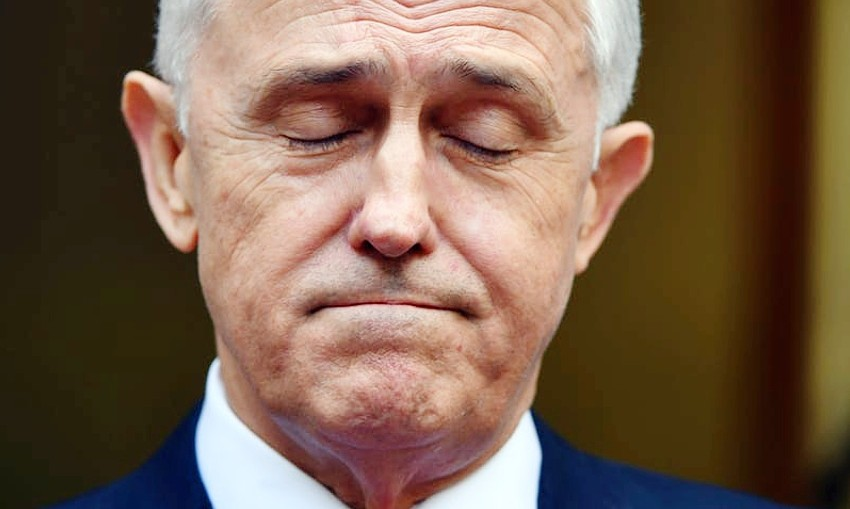 MaolcolmTurnbull by AAP Mick Tsikas