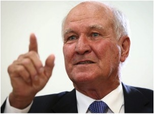 Former Independent MP Tony Windsor says he expected 'old heads in China' would scrap the project. Photo: Alex Ellinghausen