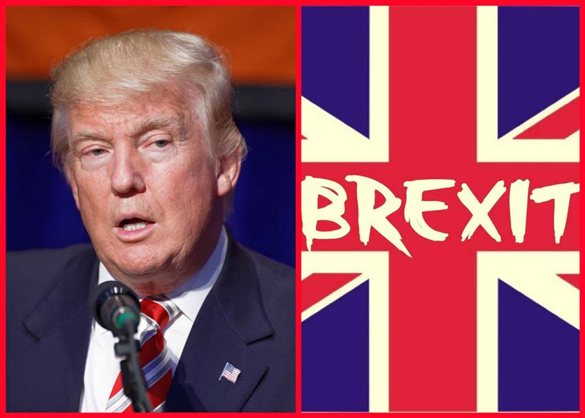 Image result for trump and brexit