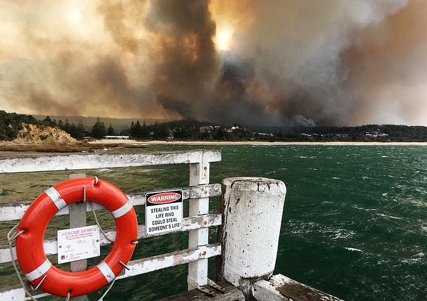 Tathra bush fires March 2018