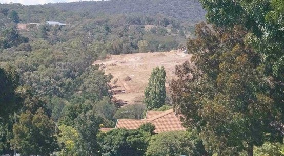 Ellerton Drive Extension construction