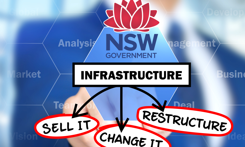 NSW Government infrastructure