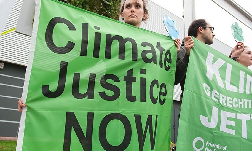 Paris December 2015 climate protest