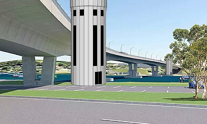 Batemans Bay Bridge artists impression supplied