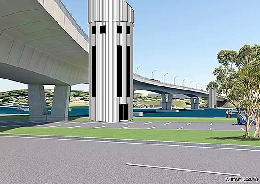 Batemans Bay Bridge artists impression supplied