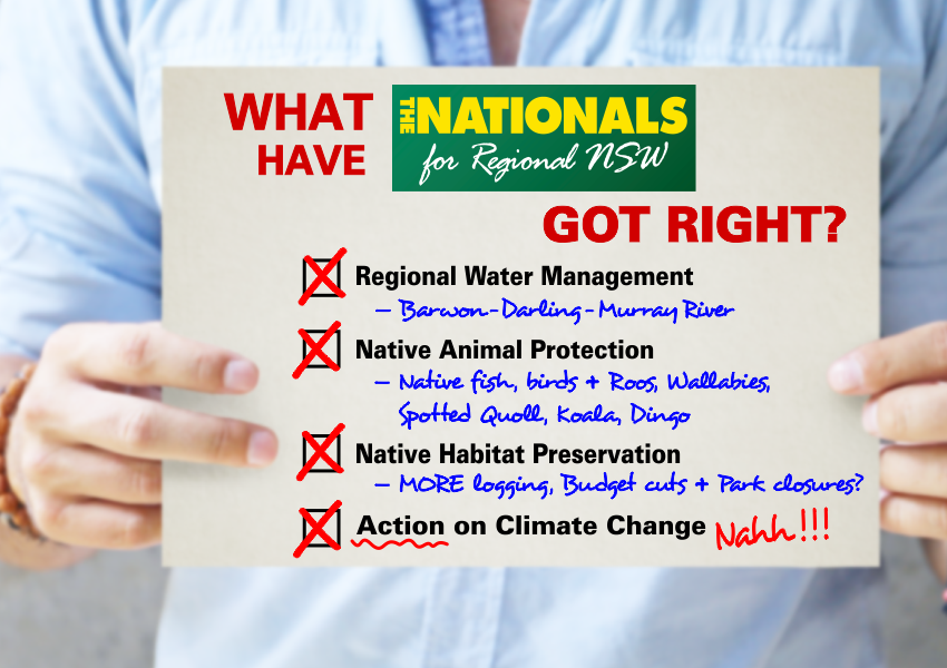 NSW National Party checklist