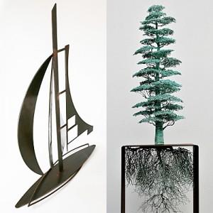 NoQuarterGiven_StephenHogan-CloudTree_UlanMurray-RachelBurns_SculptureBermagui2019