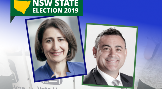 NSW coalition elected 2019