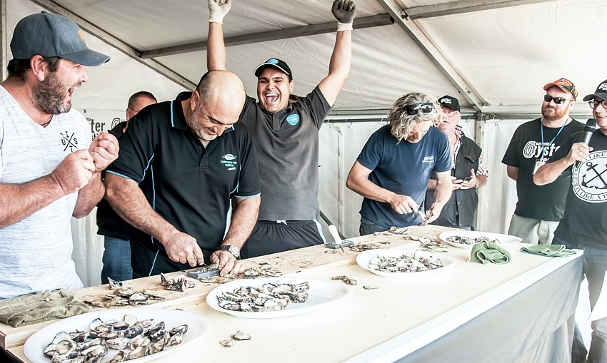 narooma oyster shucking competition winners 2018
