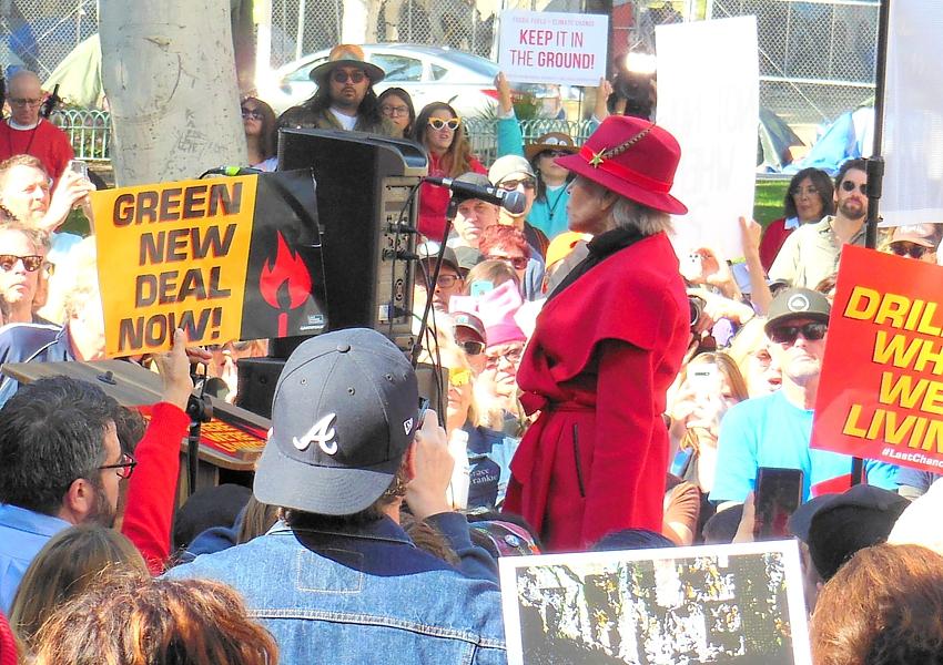Jane-Fonda-climate-activist-by-Marie-Elena-Sager-Dreamstime