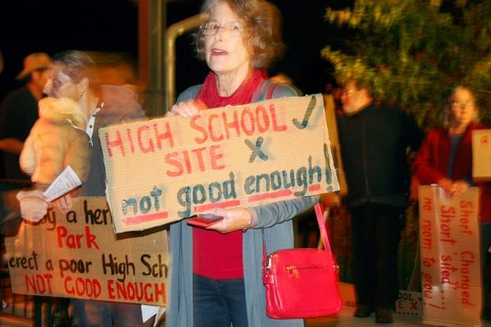 Bungendore-high-school-protest