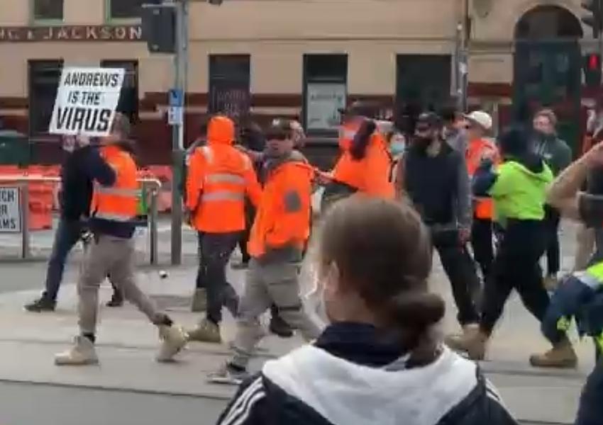 screen-grab-CFMEU-protest-Melbourne_ABC News